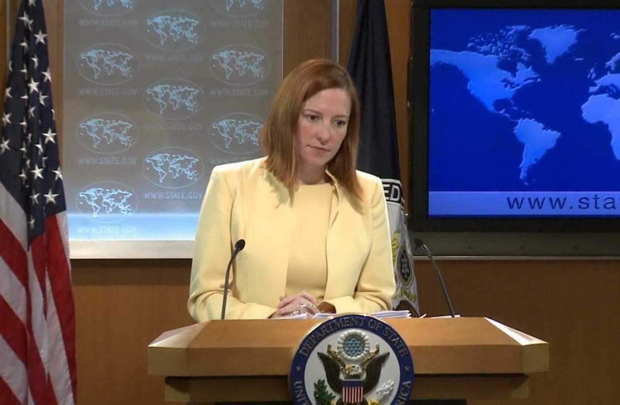 Ψάκι: Οι ΗΠΑ υποστηρίζουν την επανέναρξη των διαπραγματεύσεων για το Κυπριακό