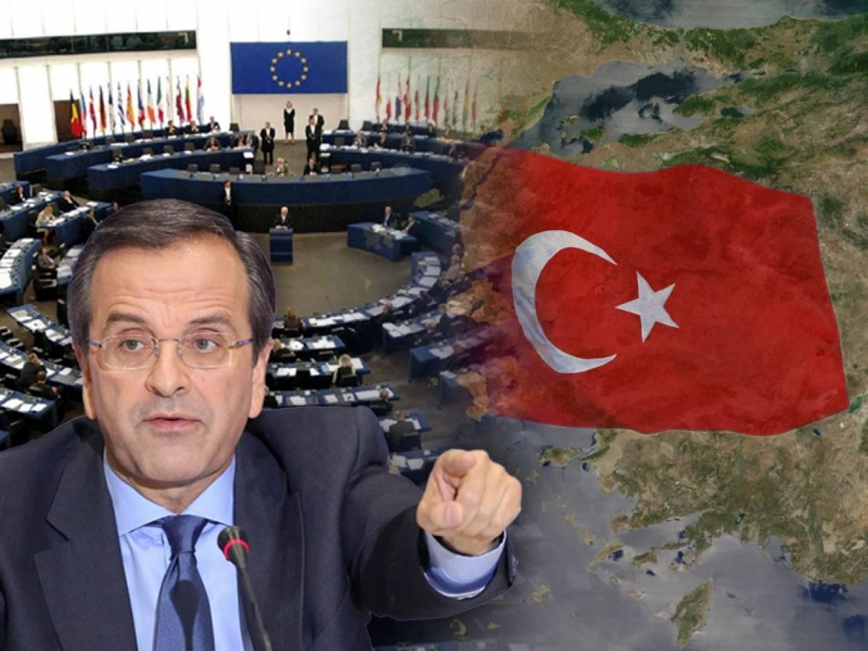 Το «βέτο» του Αντώνη Σαμαρά για την ένταξη της Τουρκίας στην Ε.Ε.