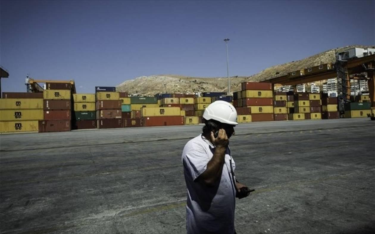 Μείωση 3,9% στις εξαγωγές οκταμήνου