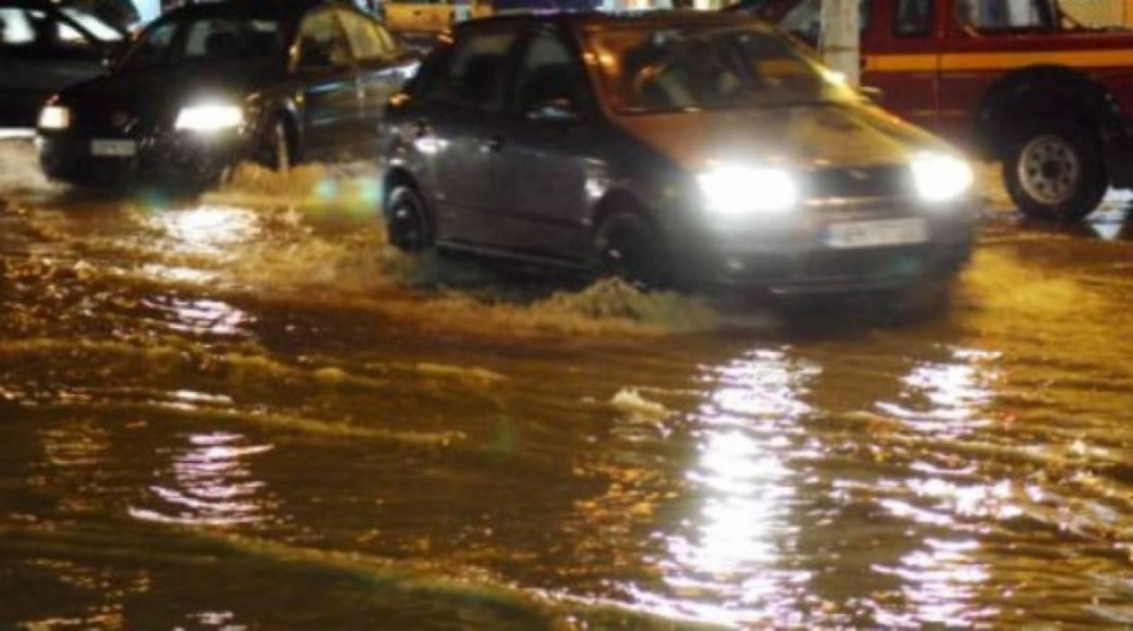 ΤΩΡΑ: Ισχυρή καταιγίδα πλήττει ξανά την Αττική
