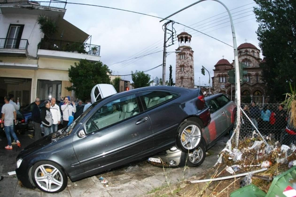 Επικοινωνία Βενιζέλου - Σαμαρά για τις καταστροφές από την κακοκαιρία
