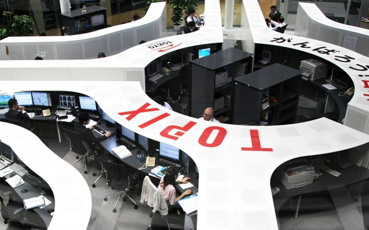 Με άνοδο ξεκίνησε η συνεδρίαση στο χρηματιστήριο του Τόκιο
