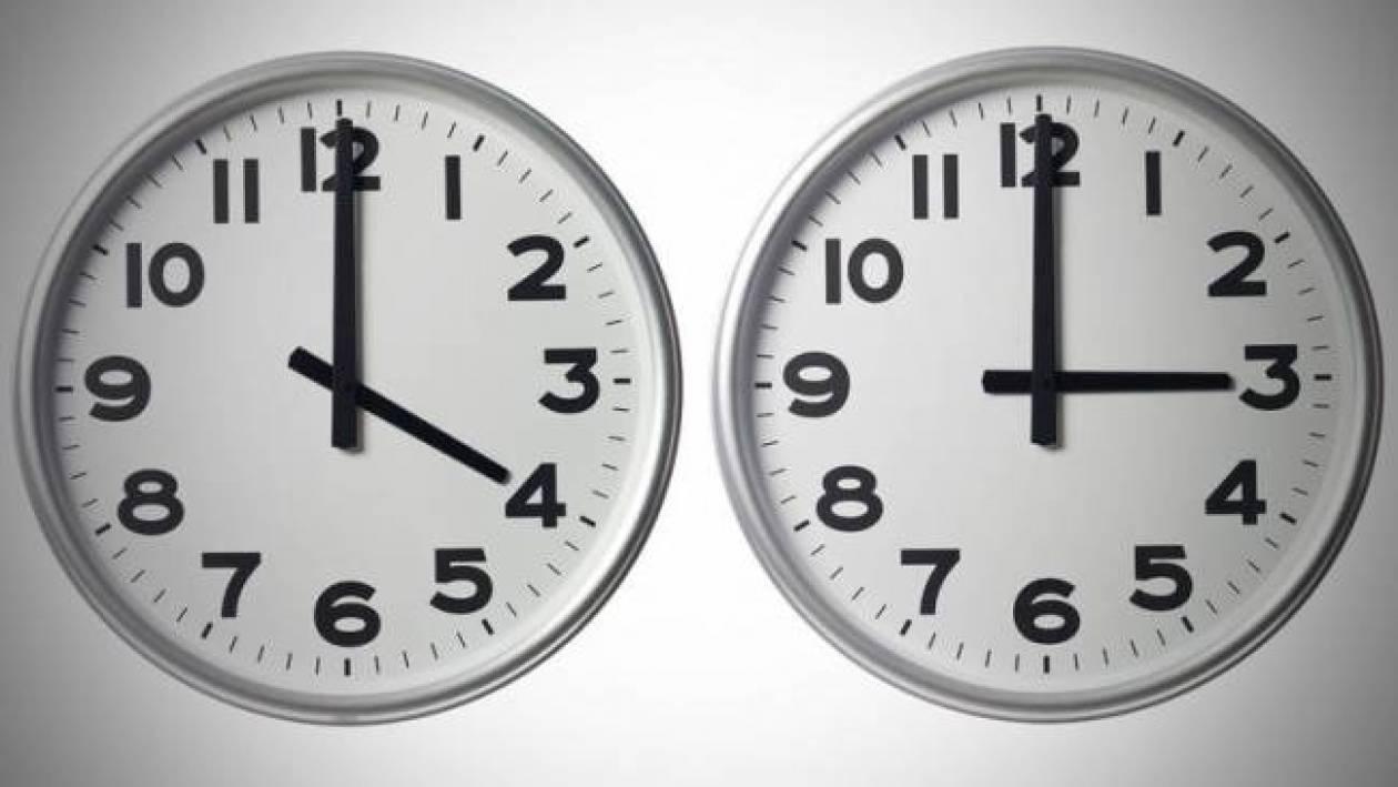 Αλλάζει η ώρα: Ξημερώματα Κυριακής γυρίζουμε τα ρολόγια μας...