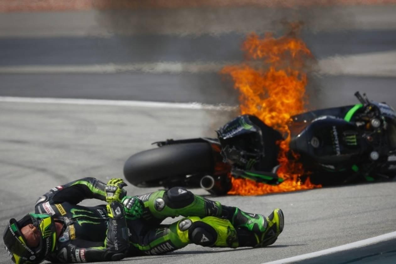 MotoGP Sepang: Η τρομακτική πτώση του P.Espargaro