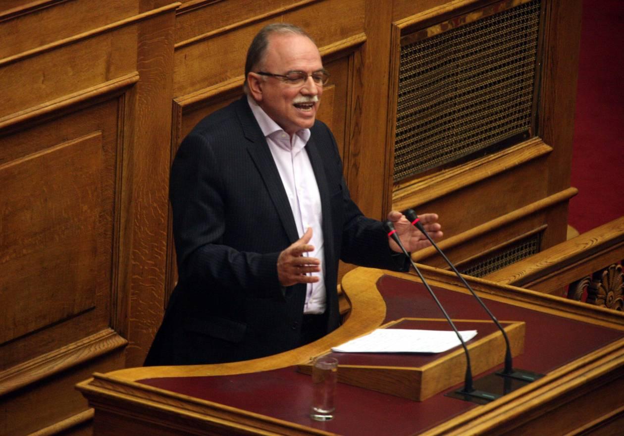 Παπαδημούλης: Πρωθυπουργός ή κομματάρχης ο Σαμαράς;
