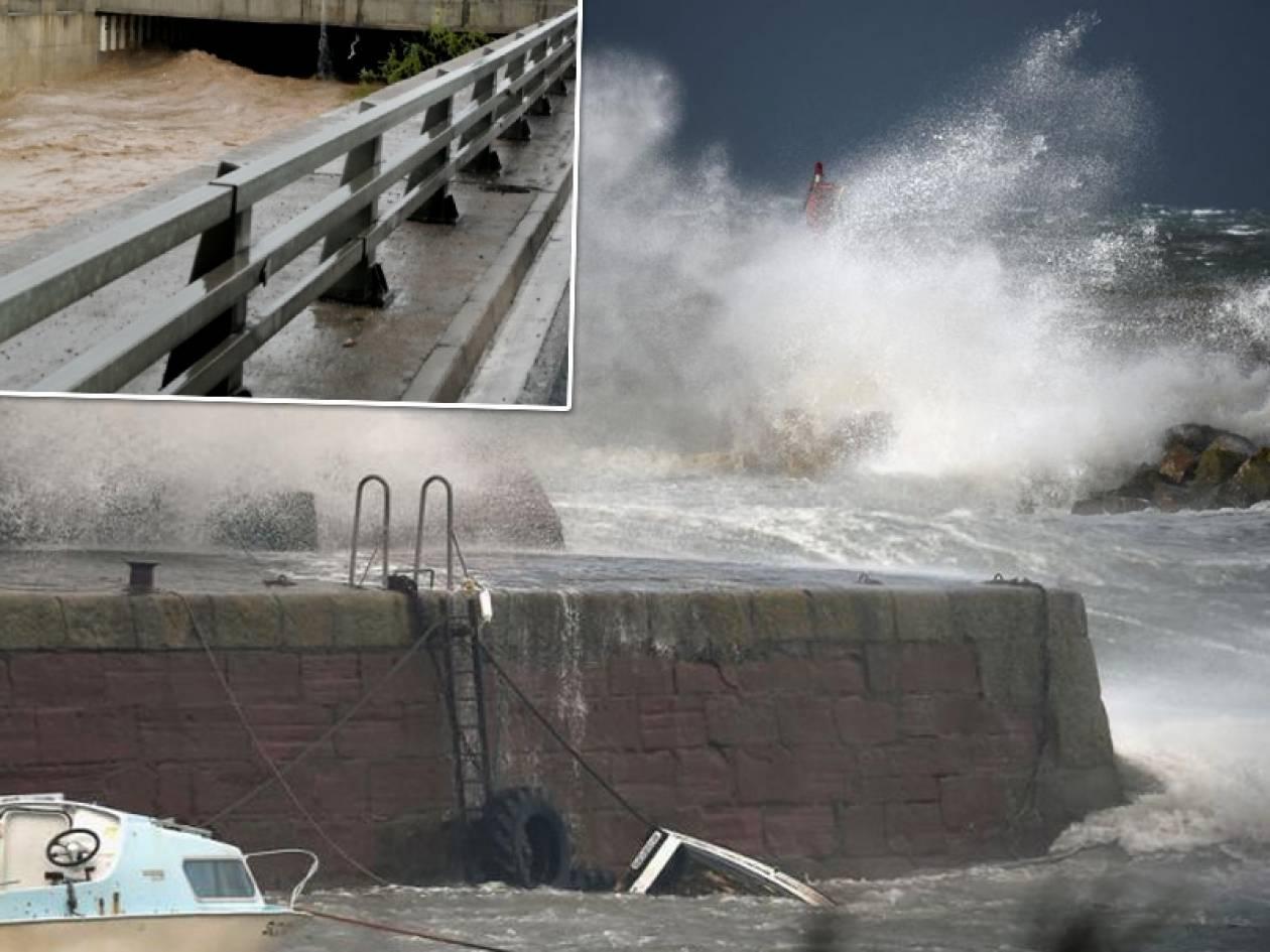 Καιρός: Ο τυφώνας Gοnzalo «χτύπησε» την Αθήνα