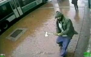 Ακραίος ισλαμιστής ο άνδρας με το τσεκούρι στη Νέα Υόρκη