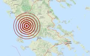 Σεισμός 5,3 Ρίχτερ στην Αμφιλοχία