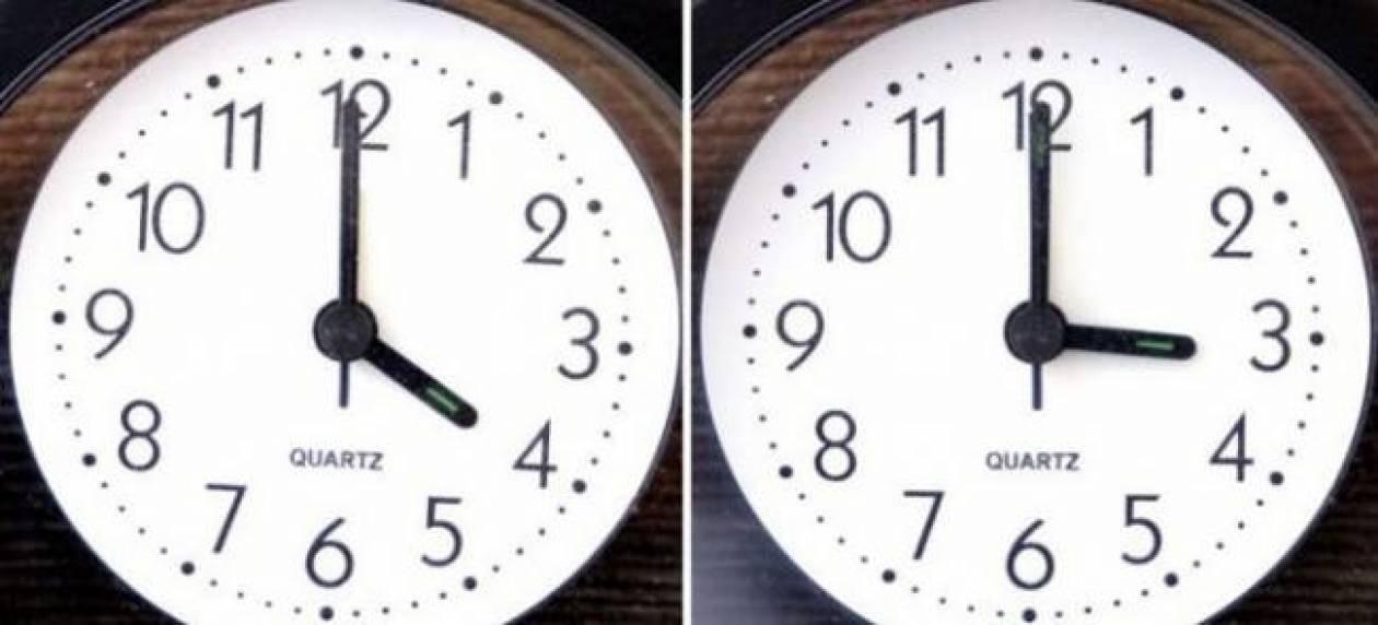 Προσοχή: Άλλαξε η ώρα τα ξημερώματα