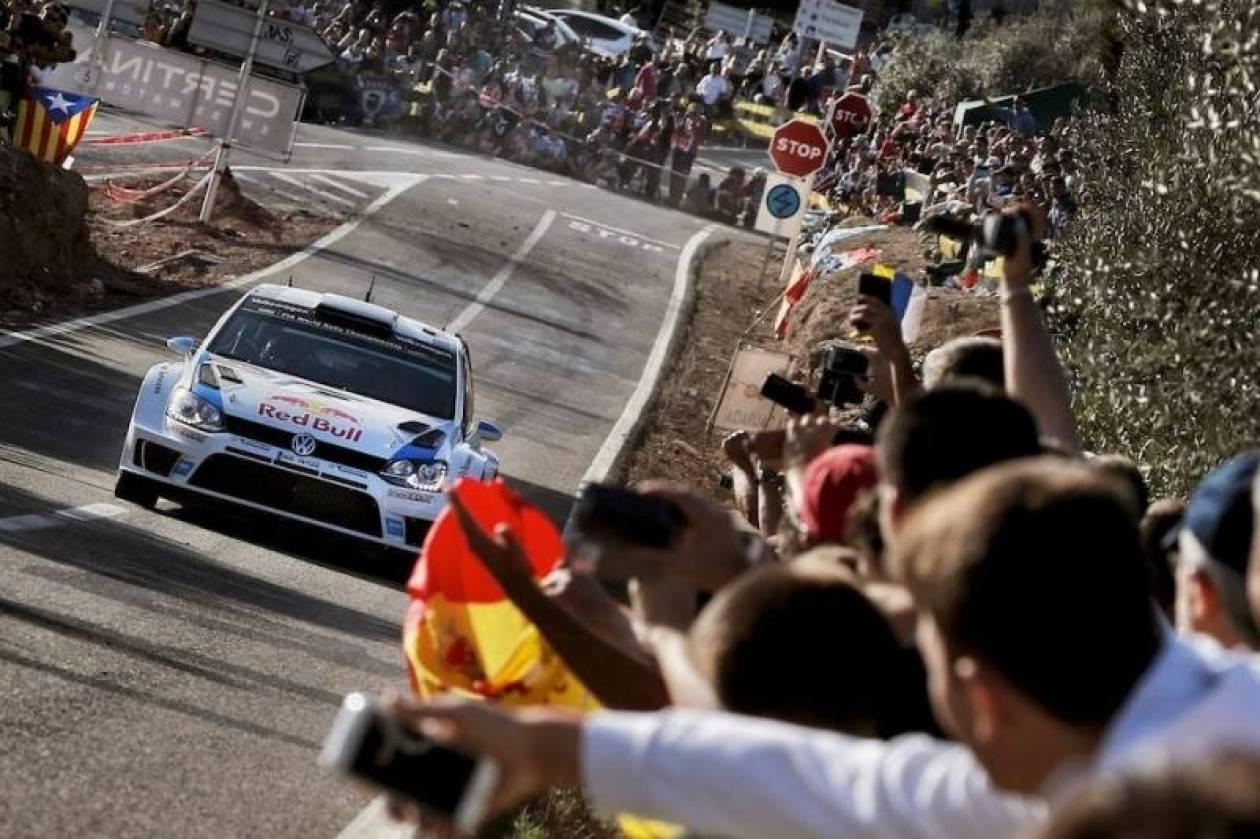 WRC Ισπανία 2η ημέρα: Ο Ogier πρώτος, ο Latvala πιέζει