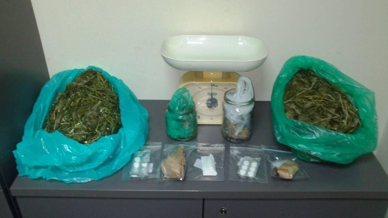 Λέσβος: Σύλληψη 48χρονου για διακίνηση ναρκωτικών