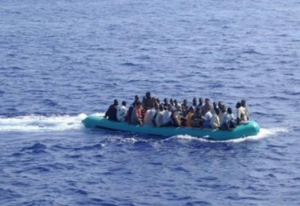 Εντοπισμός και διάσωση 48 παράνομων μεταναστών στη Σάμο
