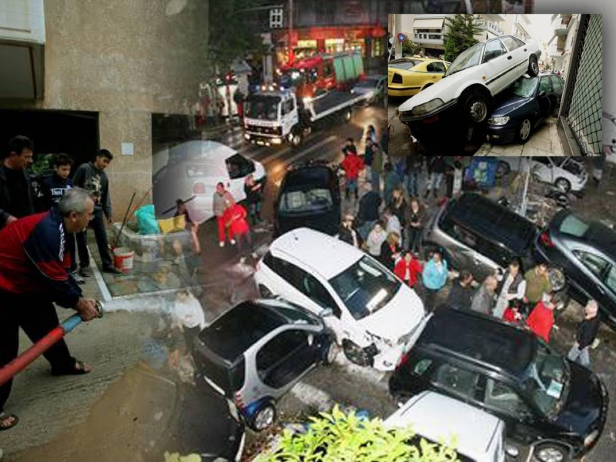 Ξεκίνησε η καταγραφή ζημιών από τις πλημμύρες