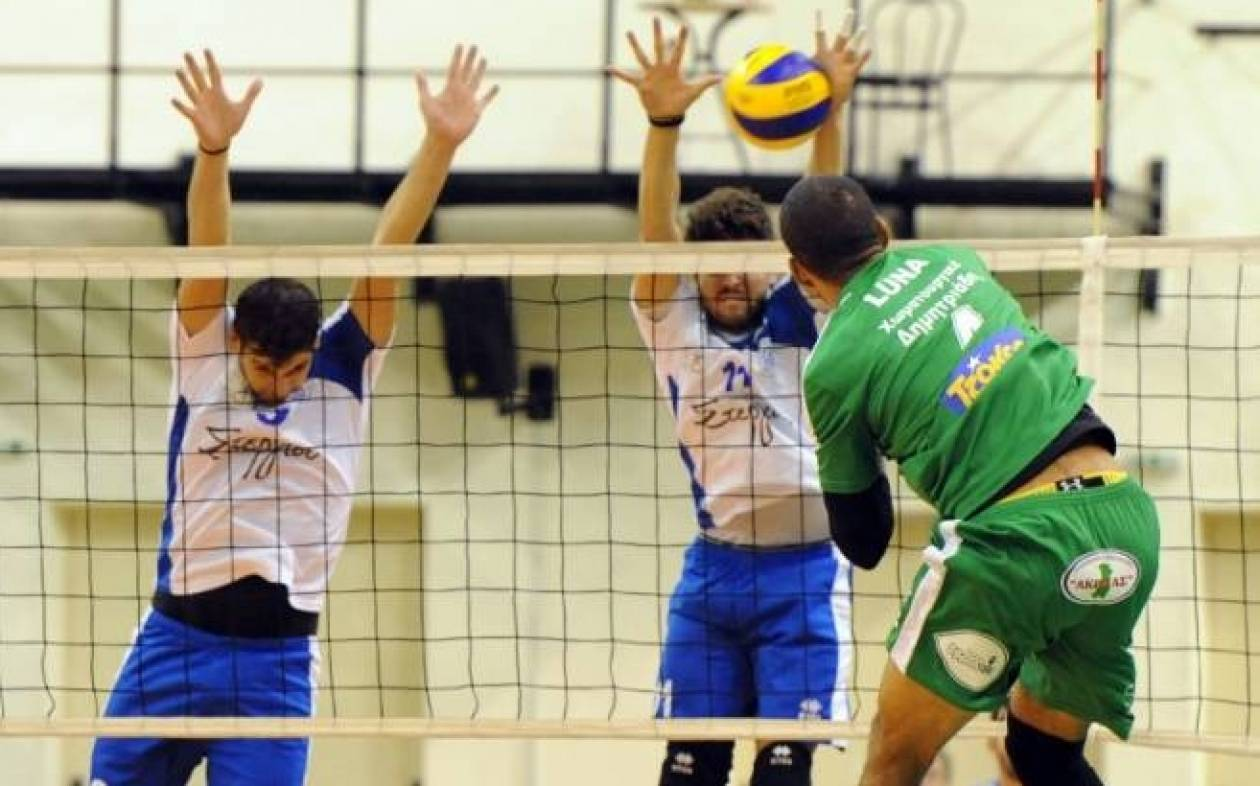 Volleyleague: Σε τρεις «δόσεις» η 2η αγωνιστική