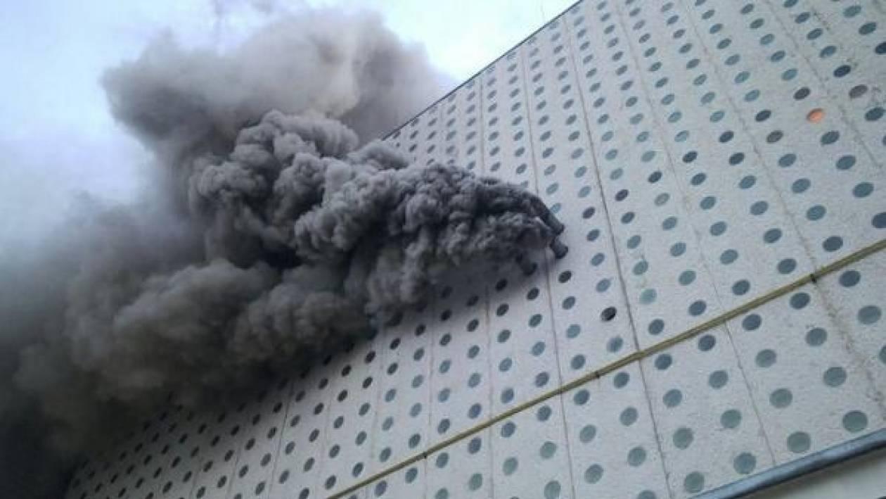 Στις φλόγες τμήμα του διεθνούς αεροδρομίου του Μεξικού
