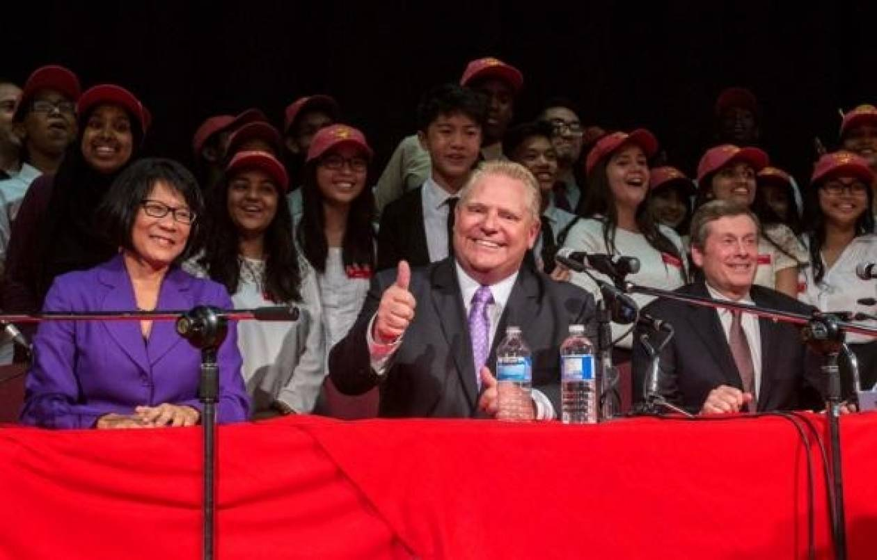 Καναδάς: Ο Τζον Τόρι νέος δήμαρχος Τορόντο