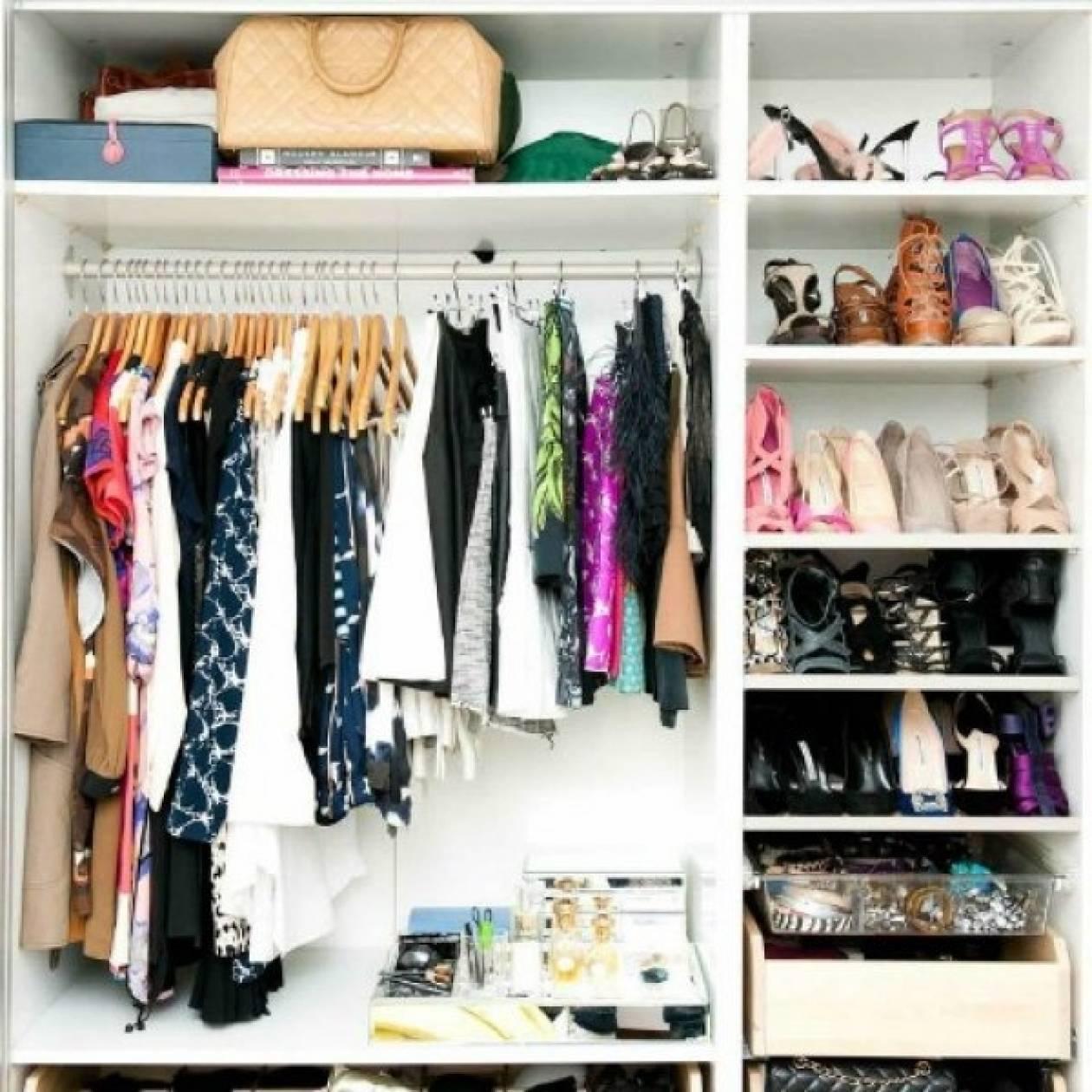 Τα μυστικά για μια τέλεια οργανωμένη ντουλάπα