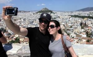 Βγάζοντας την καλύτερη selfie στα ταξίδια