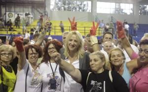 Στην αντεπίθεση η Ρένα Δούρου για τις καθαρίστριες