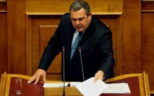Καμμένος: Κόλαφος η έκθεση του Γρ. Προϋπολογισμού της Βουλής