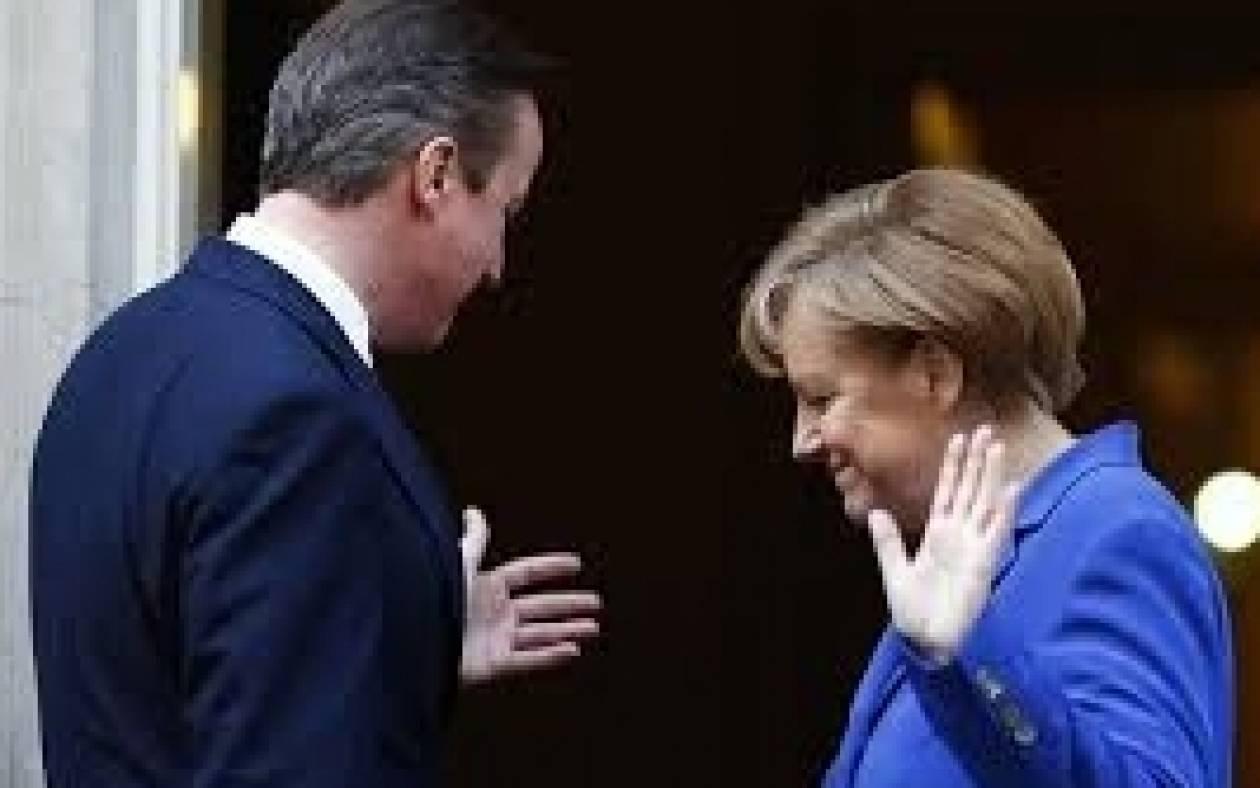 Μέρκελ εναντίον Κάμερον για τη συνεισφορά στον ευρωπαϊκό προϋπολογισμό