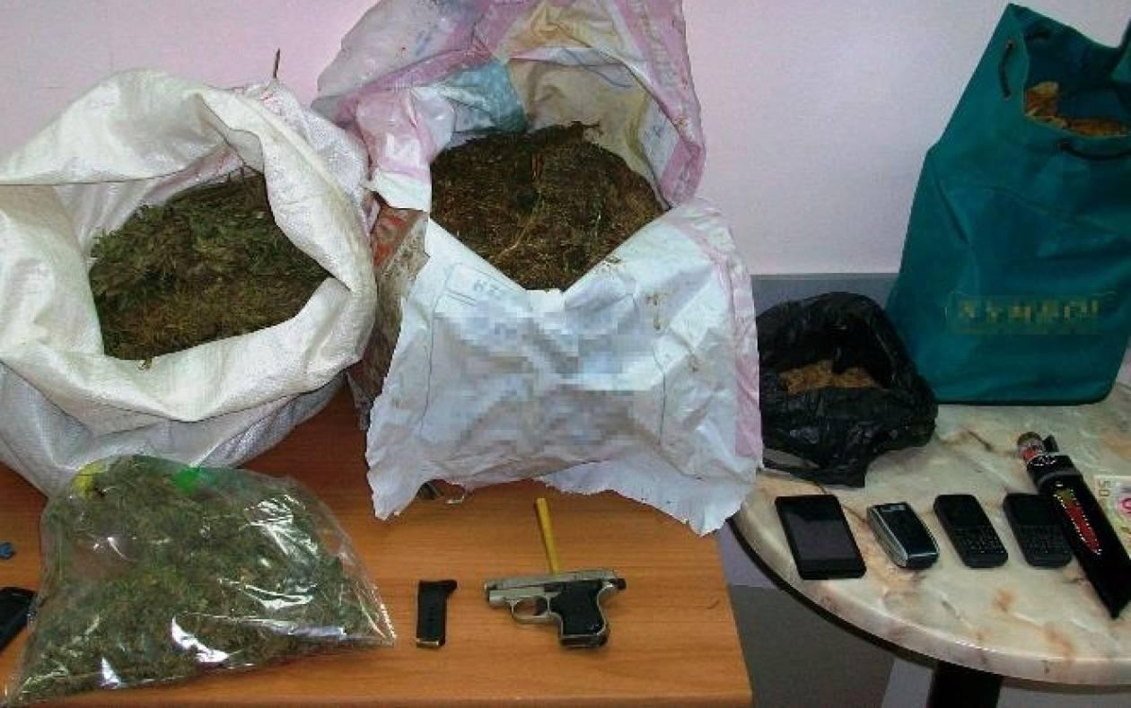 Συνελήφθησαν 3 άτομα στη Διαλαμπή για διακίνηση ναρκωτικών