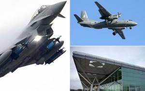 Η βρετανική πολεμική αεροπορία αναχαίτισε λετονικό αεροσκάφος