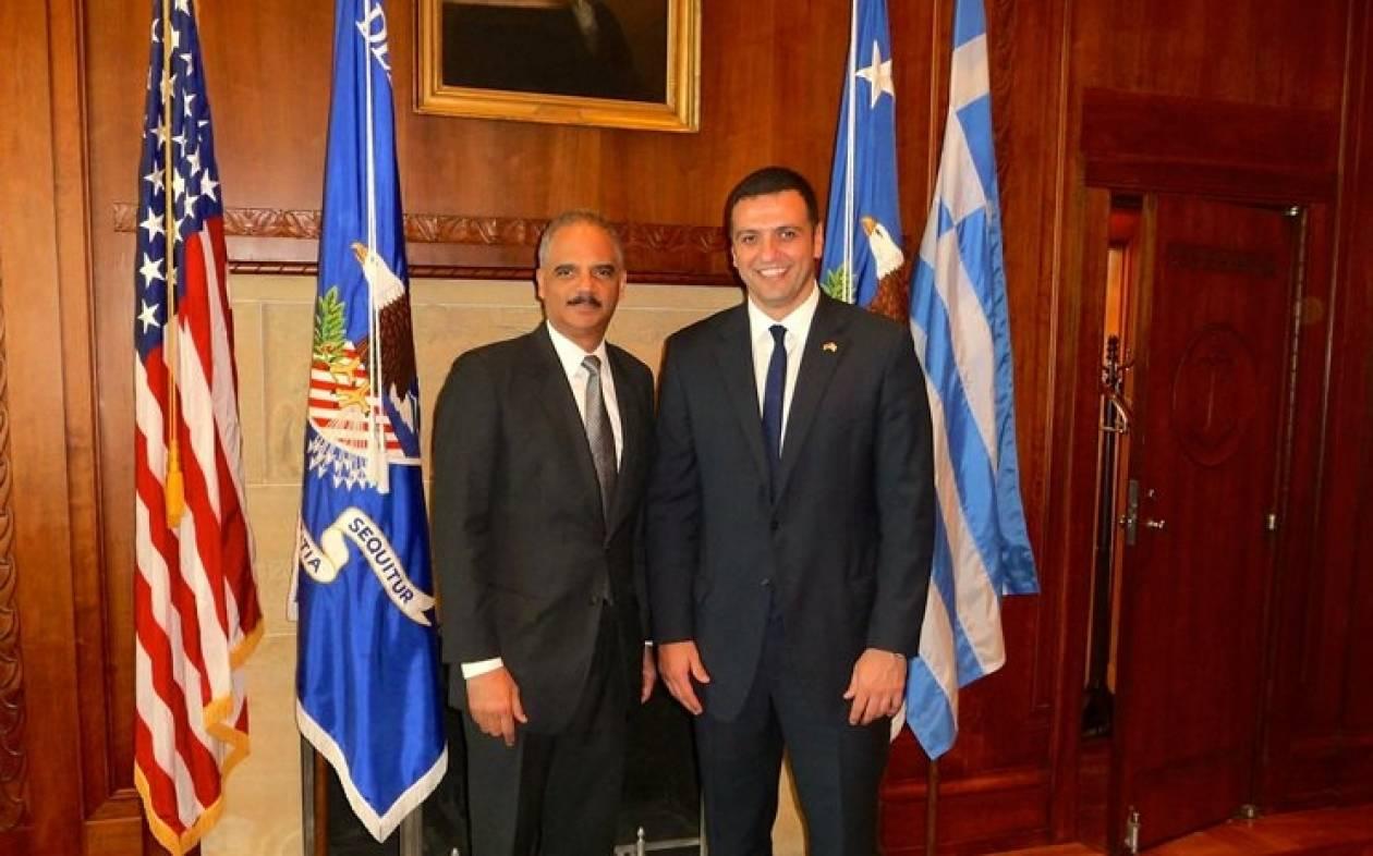 Υπουργός Δικαιοσύνης ΗΠΑ: Η Ελλάδα παραμένει μια ασφαλής χώρα