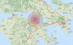 Σεισμός 3,5 Ρίχτερ βόρεια του Ξυλοκάστρου