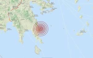 Σεισμός 3,5 Ρίχτερ ανατολικά των Μολάων