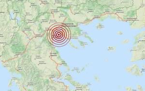 Σεισμός 3,3 Ρίχτερ στον Θερμαϊκό Κόλπο