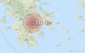 Σεισμός 3,7 Ρίχτερ στον Κορινθιακό Κόλπο