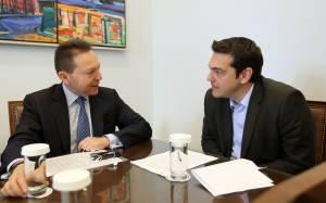 Συνάντηση Στουρνάρα – Τσίπρα για stress tests και «κόκκινα» δάνεια