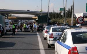 Κυκλοφοριακό «έμφραγμα» στην ΕΟ Αθηνών-Λαμίας λόγω τροχαίου