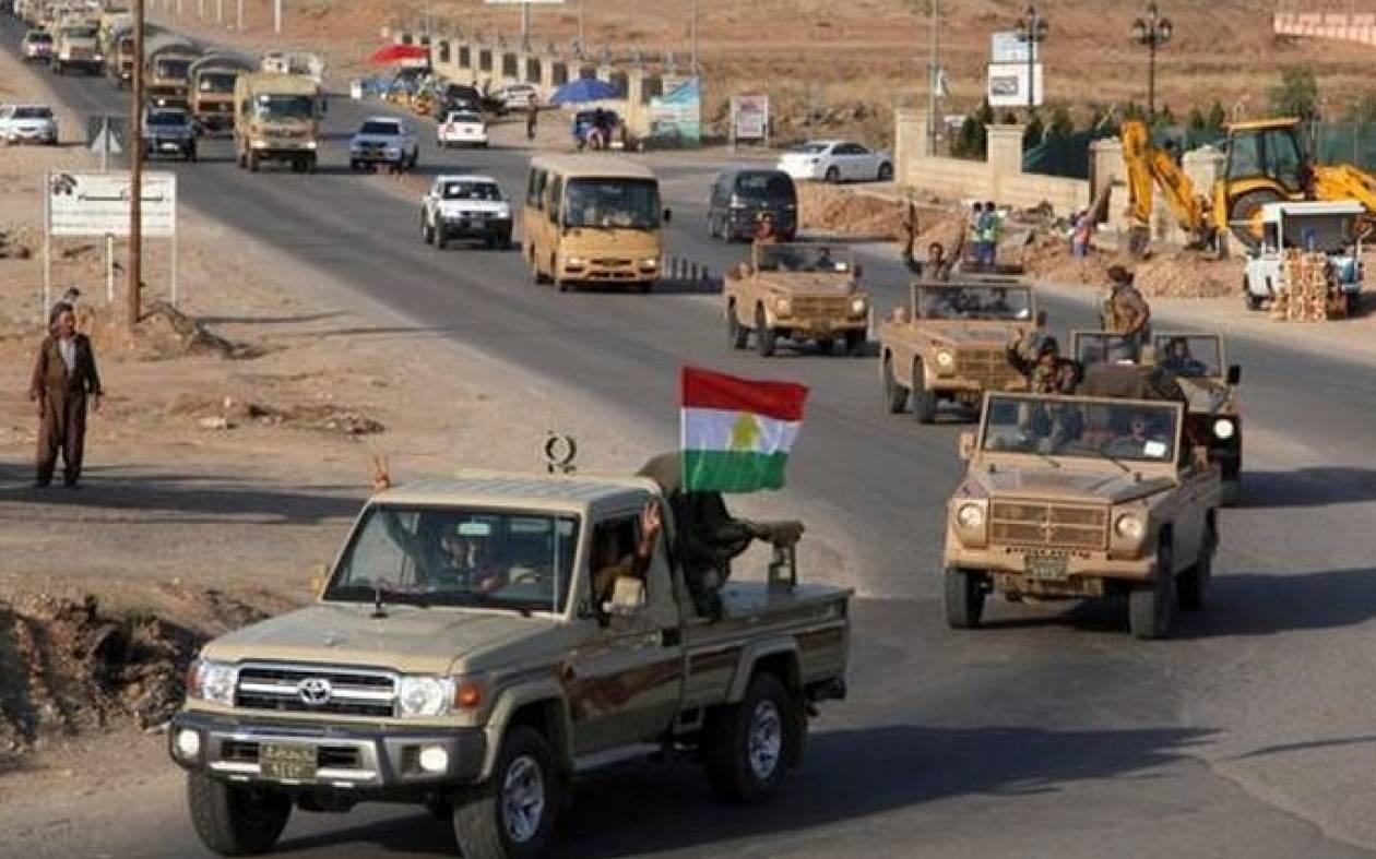 Στη Συρία οι πρώτοι Πεσμεργκά - Bομβαρδισμοί από τους τζιχαντιστές