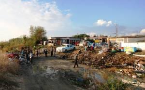 Αστυνομική επιχείρηση σε καταυλισμό Ρομά στην Ρόδο