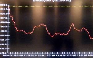 Πτώση 2,80% σημείωσε ο Γενικός Δείκτης Τιμών
