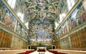Βατικανό - 7.000 λαμπτήρες φωτίζουν την Καπέλα Σιξτίνα