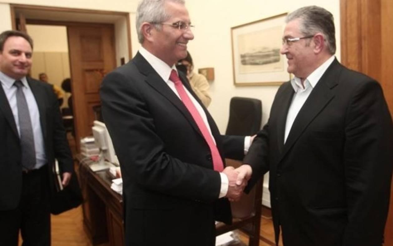 Η τουρκική επιθετικότητα στη συνάντηση Δ. Κουτσούμπα – Άντρου Κυπριανού