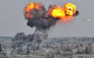 Επιδρομές διευκολύνουν την είσοδο Κούρδων μαχητών στο Κομπάνι
