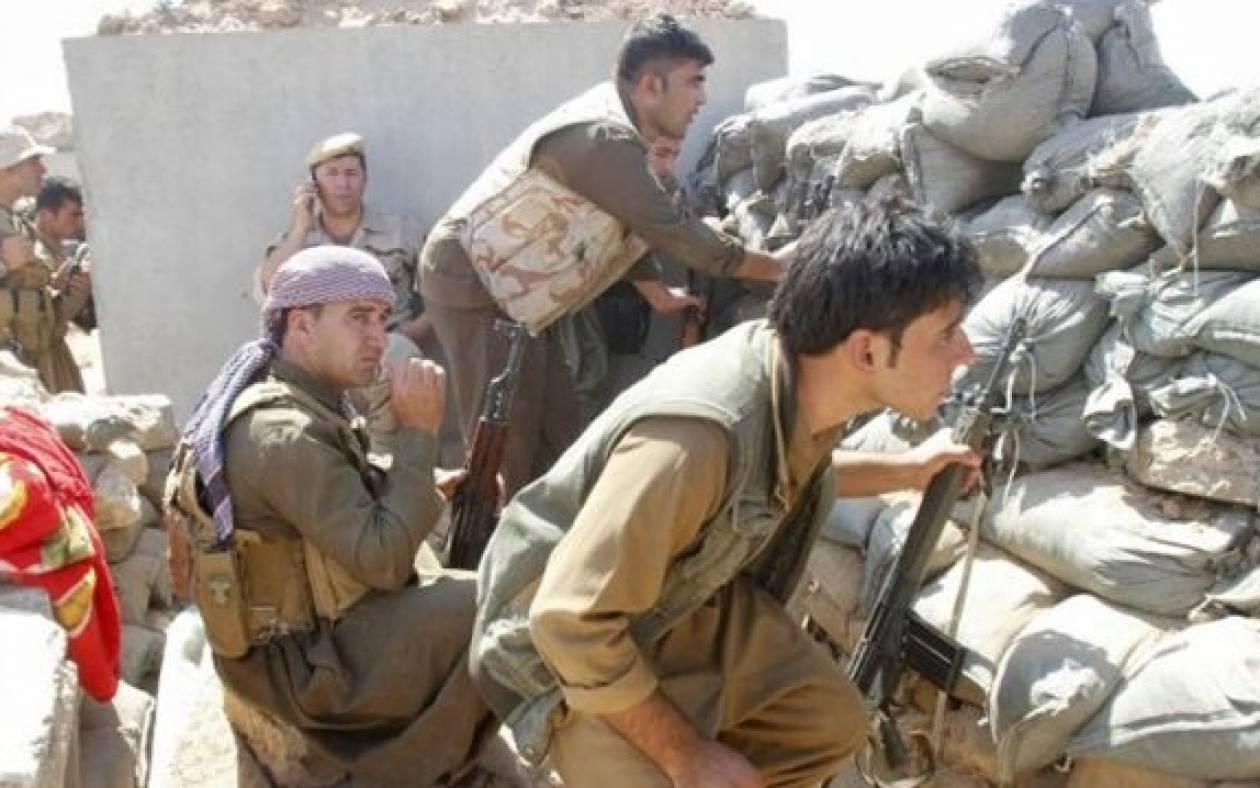 Στο Κομπάνι οι Κούρδοι μαχητές