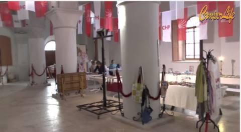 Έστησαν παζάρι σε χριστιανικό ναό στο Τσεσμέ