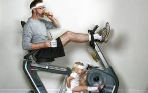 Γυμναστική για μπαμπάδες!