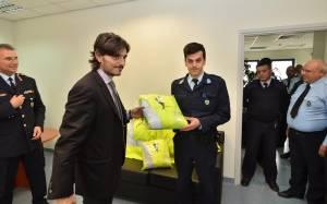 Δ.Γιαννακόπουλος: Έμπρακτη στήριξη στην Τροχαία Αττικής Οδού