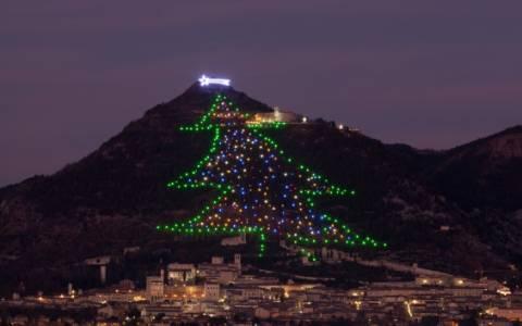 Οι Ιταλοί γνωρίζουν από... Χριστουγεννιάτικα δέντρα