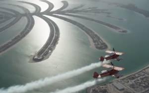 Ντουμπάι: Ακροβατικά που κόβουν την ανάσα (video)