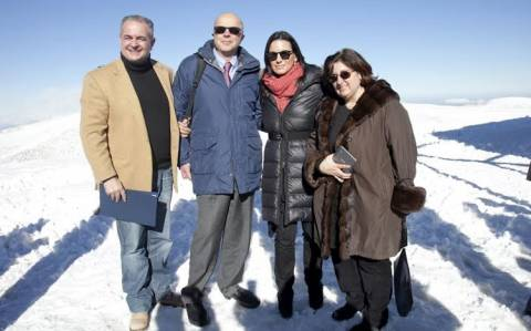 Παρνασσός: Εγκαίνια από την Όλγα Κεφαλογιάννη