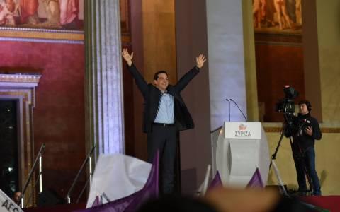 Αποτελέσματα εκλογών 2015 – Τσίπρας:Η Ελλάδα γυρίζει σελίδα – Παρελθόν η τρόικα (vid)