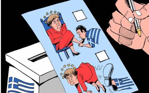 Αποτελέσματα εκλογών: Telegraph - Οι Έλληνες έδωσαν κλωτσιά στη Μέρκελ