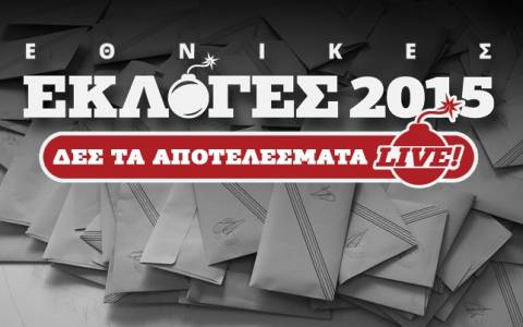 Αποτελέσματα εκλογών 2015 στο 84,24 της εκλογικής περιφέρειας Αργολίδας